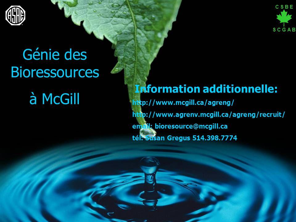 Génie des Bioressources