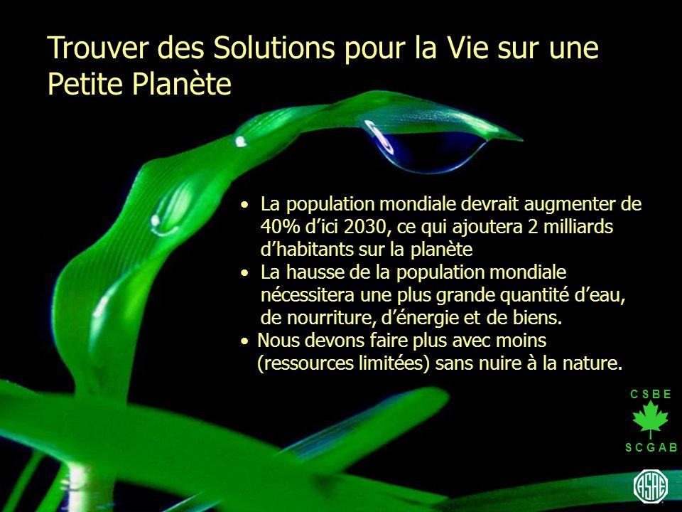 Trouver des Solutions pour la Vie sur une Petite Planète