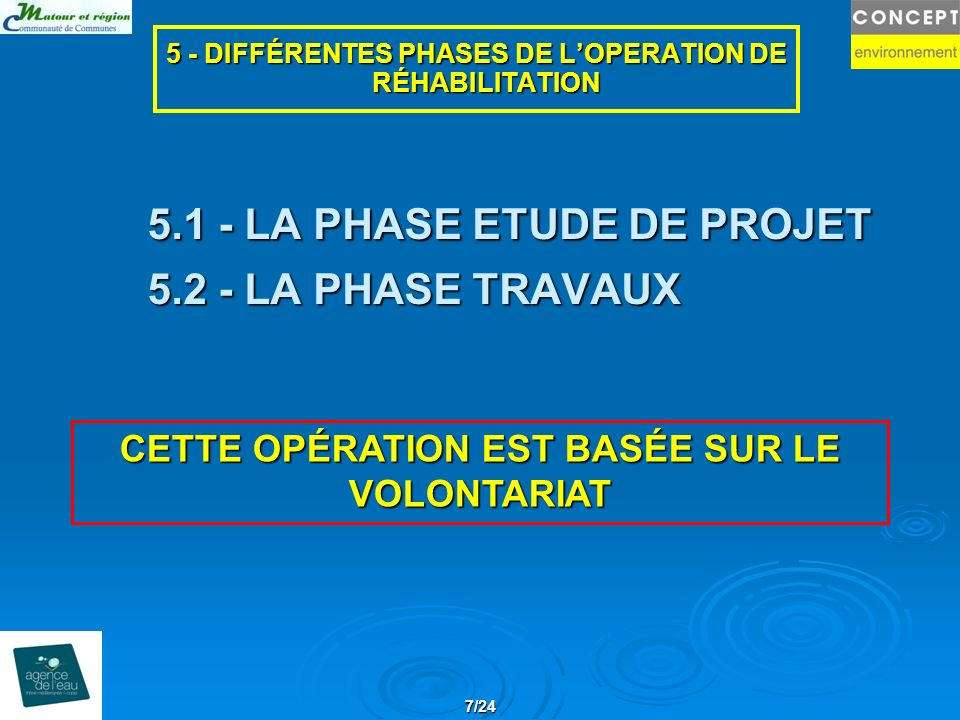 5.1 - LA PHASE ETUDE DE PROJET