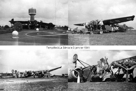 Tempête à La Sénia le 3 janvier 1941