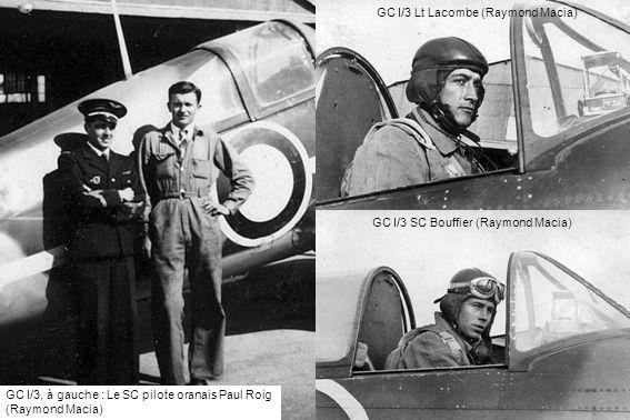 GC I/3 Lt Lacombe (Raymond Macia)