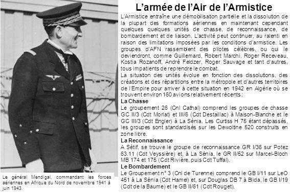L'armée de l'Air de l'Armistice