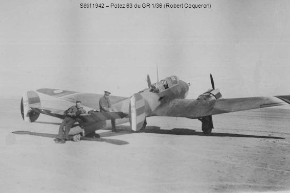 Sétif 1942 – Potez 63 du GR 1/36 (Robert Coqueron)