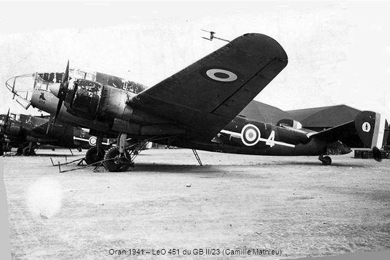 Oran 1941 – LeO 451 du GB II/23 (Camille Mathieu)