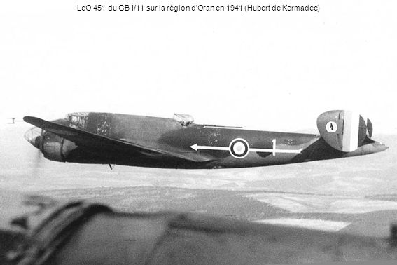 LeO 451 du GB I/11 sur la région d Oran en 1941 (Hubert de Kermadec)