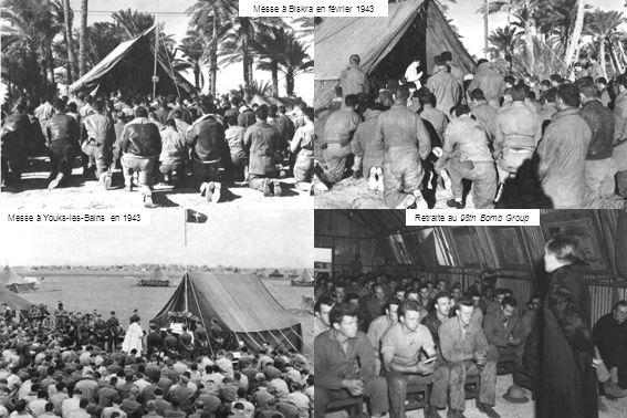 Messe à Biskra en février 1943