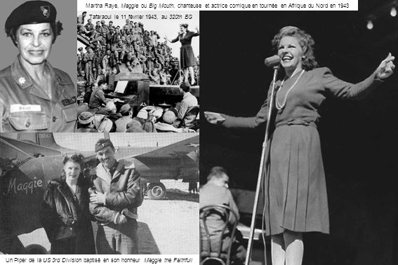 Tafaraoui le 11 février 1943, au 320th BG