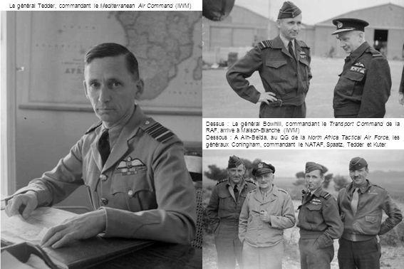 Le général Tedder, commandant le Mediterranean Air Command (IWM)
