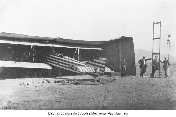 L'abri provisoire du Luciole à Méchéria (Paul Jauffret)