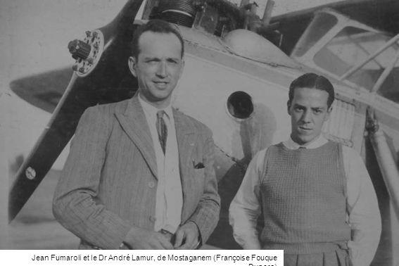 Jean Fumaroli et le Dr André Lamur, de Mostaganem (Françoise Fouque Duparc)