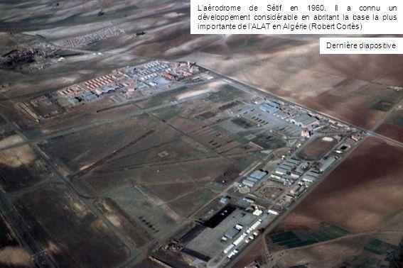 L'aérodrome de Sétif en 1960