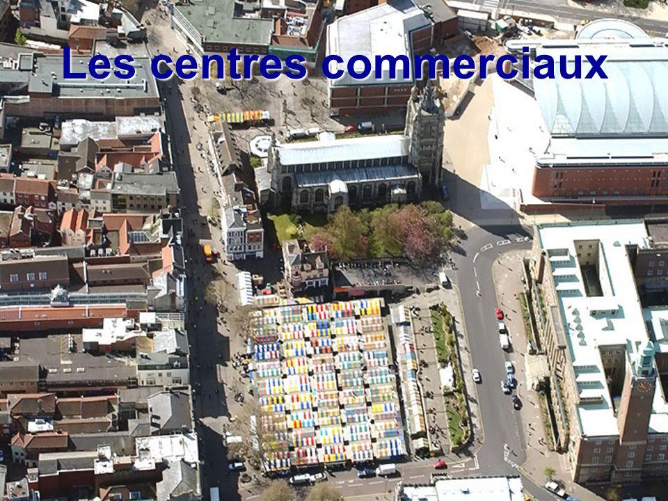 Les centres commerciaux