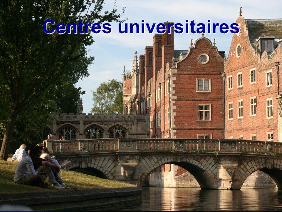 Centres universitaires