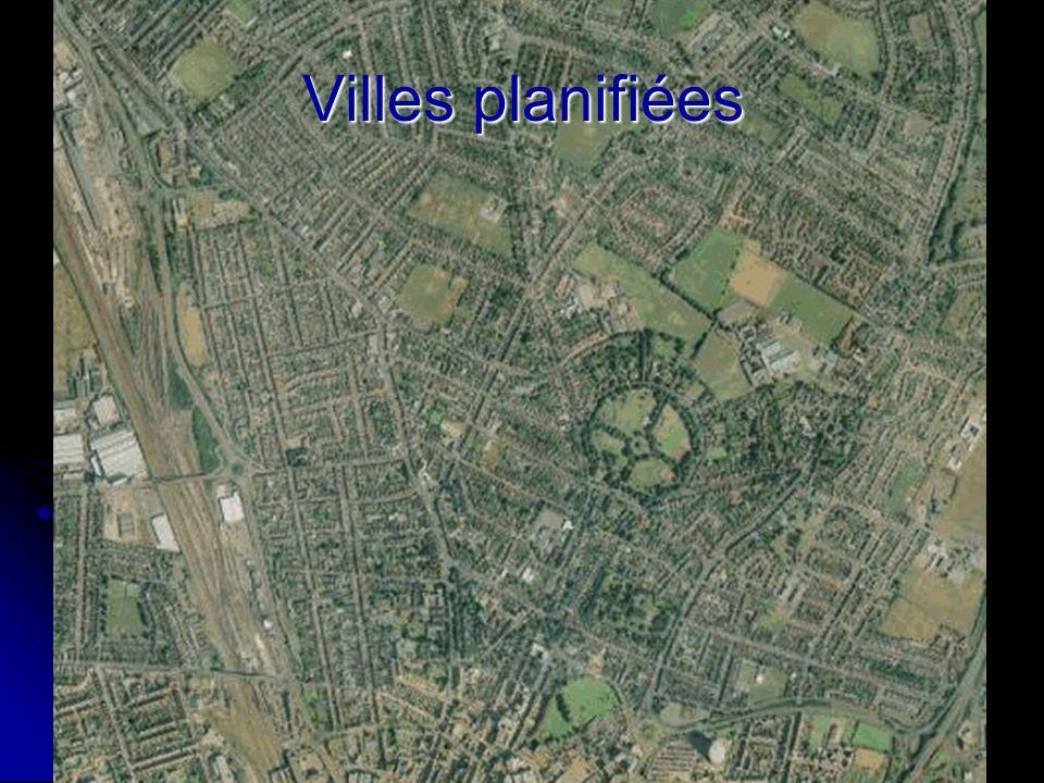 Villes planifiées