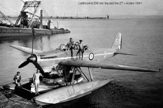 Latécoère 298 de l'escadrille 2T – Arzew 1941