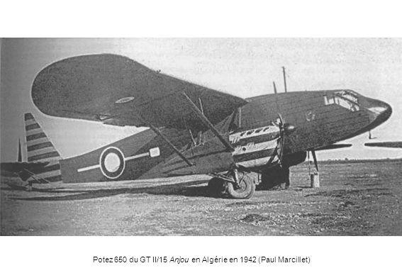 Potez 650 du GT II/15 Anjou en Algérie en 1942 (Paul Marcillet)