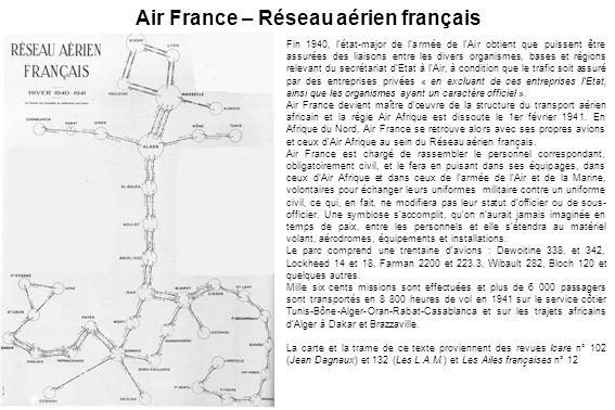 Air France – Réseau aérien français