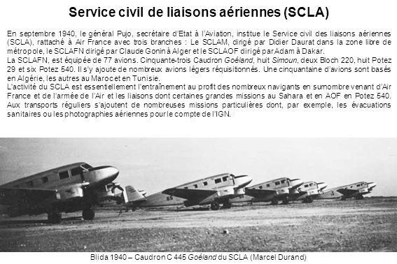 Service civil de liaisons aériennes (SCLA)