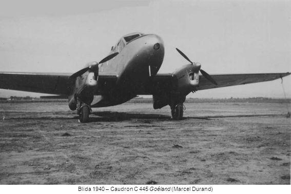 Blida 1940 – Caudron C 445 Goéland (Marcel Durand)