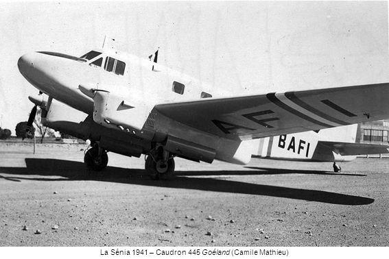La Sénia 1941 – Caudron 445 Goéland (Camile Mathieu)