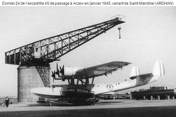 Dornier 24 de l'escadrille 4S de passage à Arzew en janvier 1945, venant de Saint-Mandrier (ARDHAN)