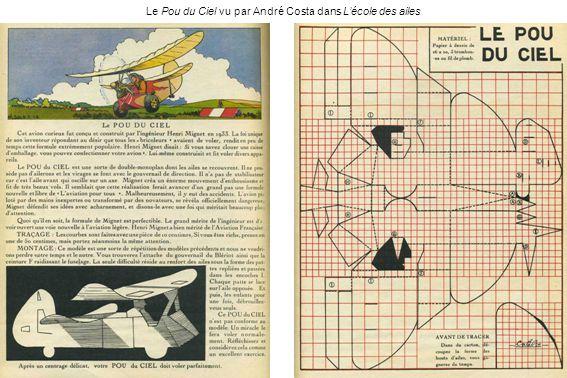 Le Pou du Ciel vu par André Costa dans L'école des ailes