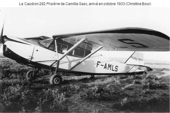 Le Caudron 282 Phalène de Camille Gasc, arrivé en octobre 1933 (Christine Bour)