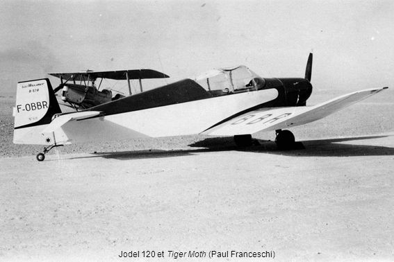 Jodel 120 et Tiger Moth (Paul Franceschi)