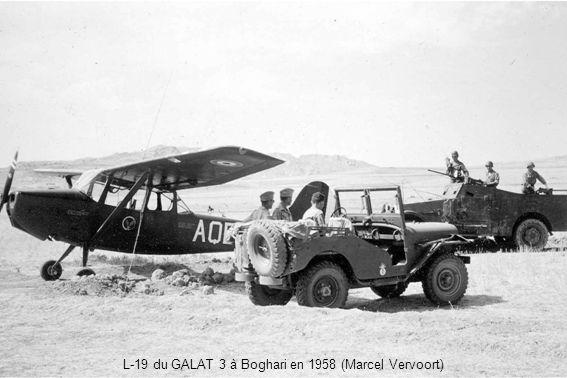 L-19 du GALAT 3 à Boghari en 1958 (Marcel Vervoort)