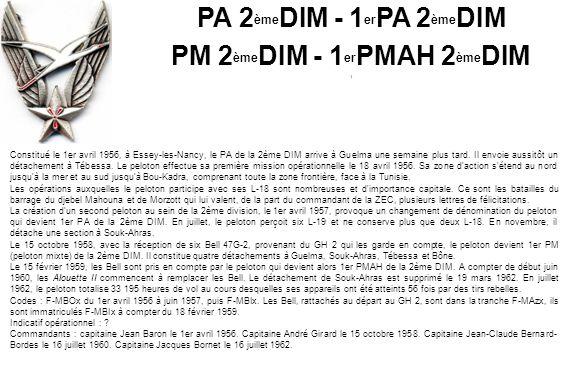 PM 2èmeDIM - 1erPMAH 2èmeDIM
