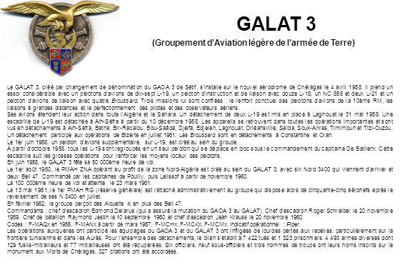 GALAT 3 (Groupement d'Aviation légère de l'armée de Terre)