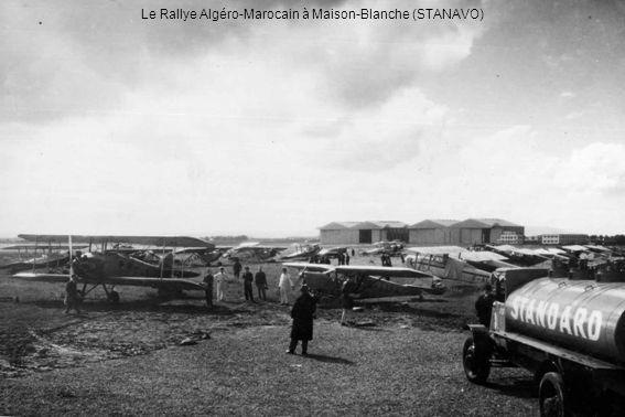 Le Rallye Algéro-Marocain à Maison-Blanche (STANAVO)