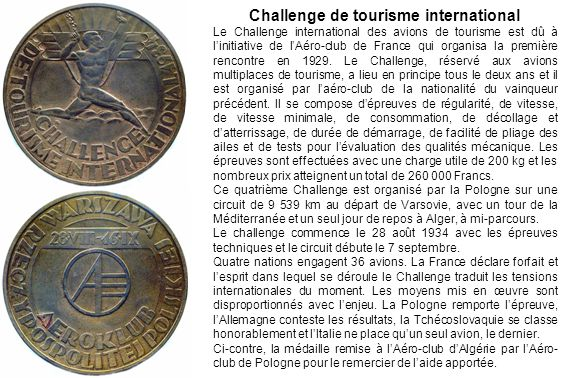 Challenge de tourisme international
