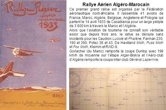 Rallye Aérien Algéro-Marocain