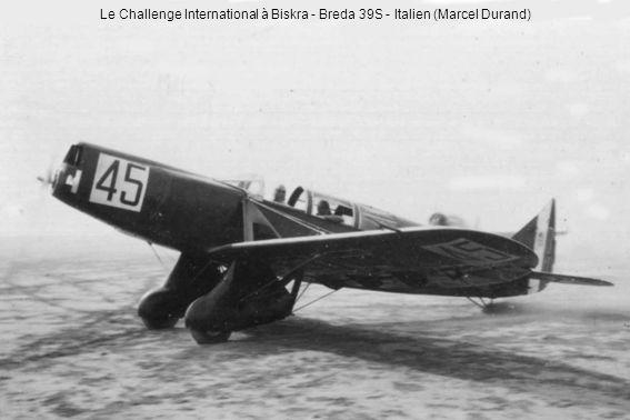 Le Challenge International à Biskra - Breda 39S - Italien (Marcel Durand)