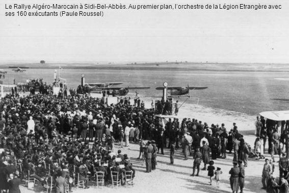 Le Rallye Algéro-Marocain à Sidi-Bel-Abbès