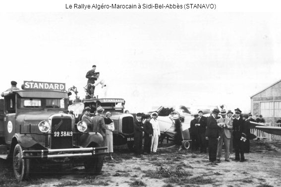 Le Rallye Algéro-Marocain à Sidi-Bel-Abbès (STANAVO)