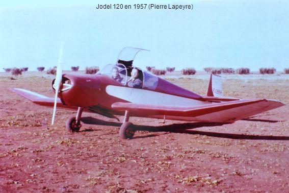 Jodel 120 en 1957 (Pierre Lapeyre)