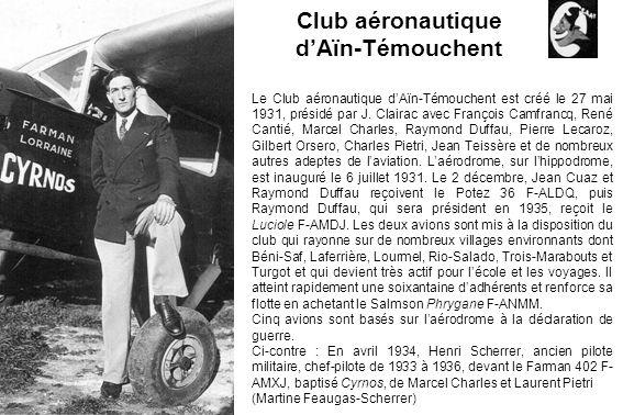 Club aéronautique d'Aïn-Témouchent
