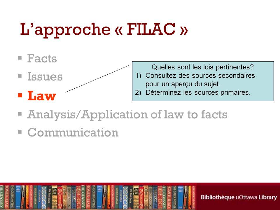 Quelles sont les lois pertinentes
