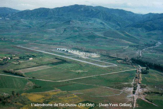 L'aérodrome de Tizi-Ouzou (Tizi-Orly) - (Jean-Yves Grillon)
