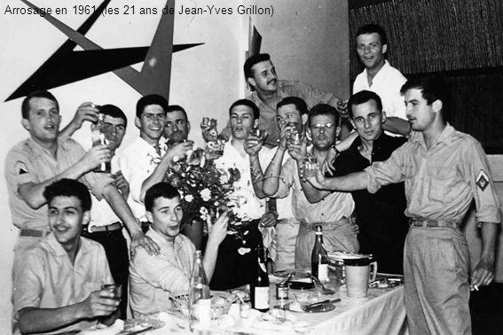 Arrosage en 1961 (les 21 ans de Jean-Yves Grillon)
