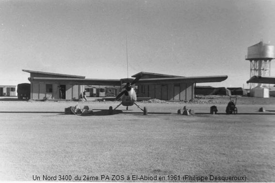 Un Nord 3400 du 2ème PA ZOS à El-Abiod en 1961 (Philippe Desqueroux)