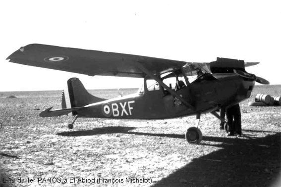L-19 du 1er PA TOS à El-Abiod (François Michelot)