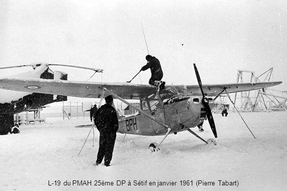L-19 du PMAH 25ème DP à Sétif en janvier 1961 (Pierre Tabart)