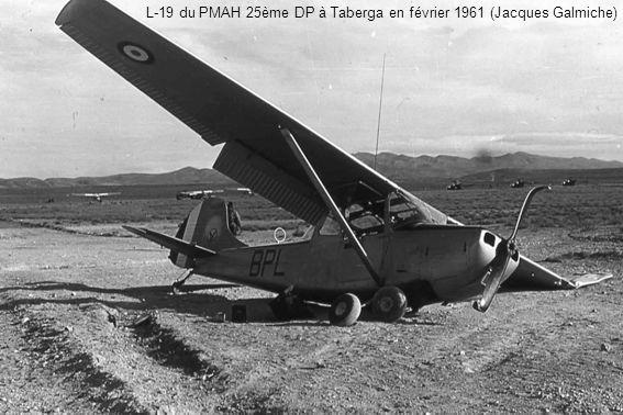 L-19 du PMAH 25ème DP à Taberga en février 1961 (Jacques Galmiche)