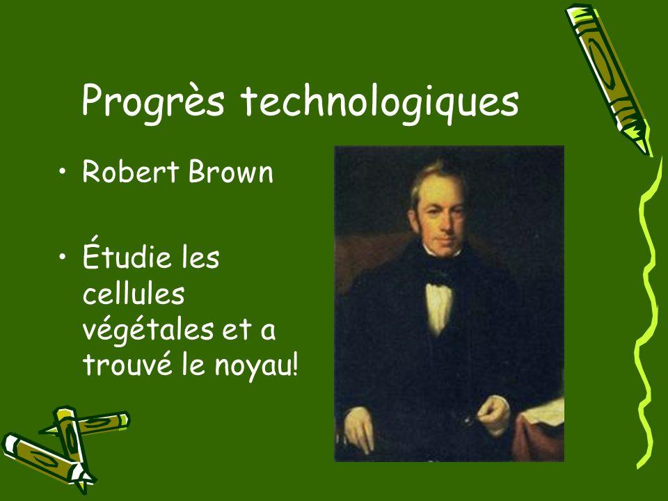Progrès technologiques