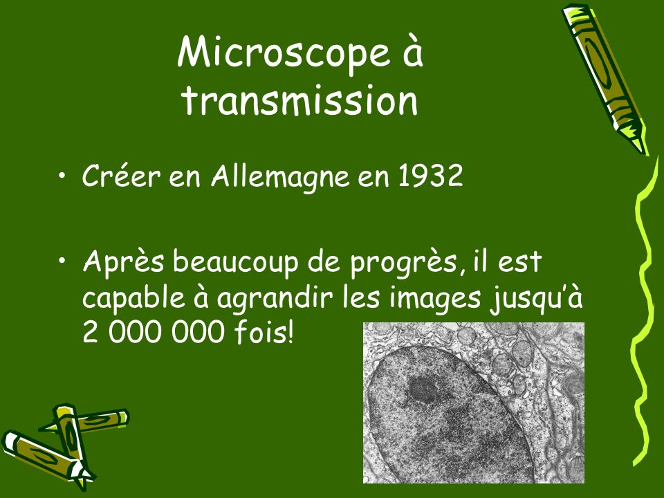 Microscope à transmission