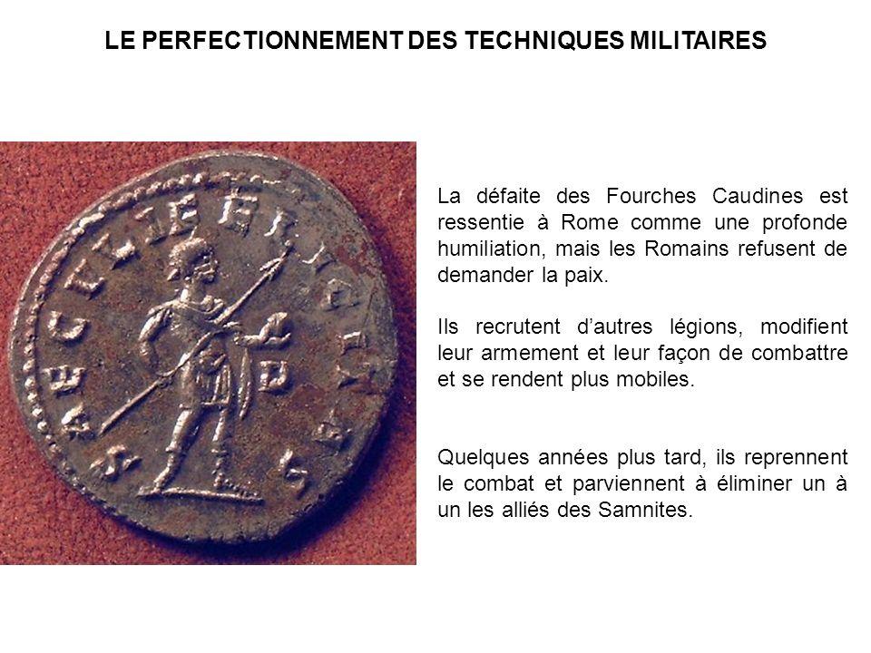 LE PERFECTIONNEMENT DES TECHNIQUES MILITAIRES