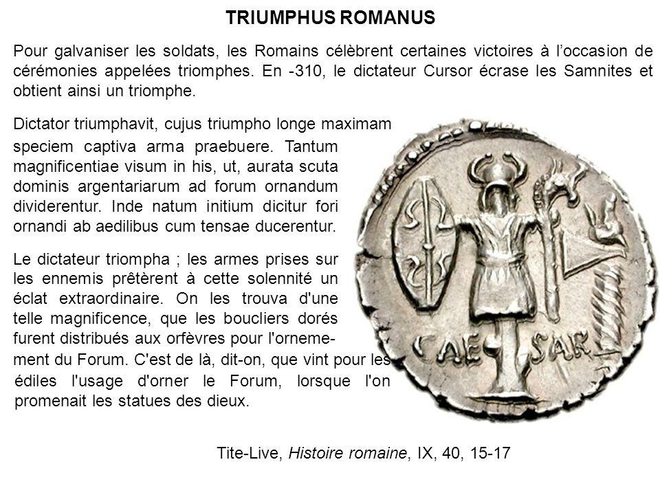 TRIUMPHUS ROMANUS